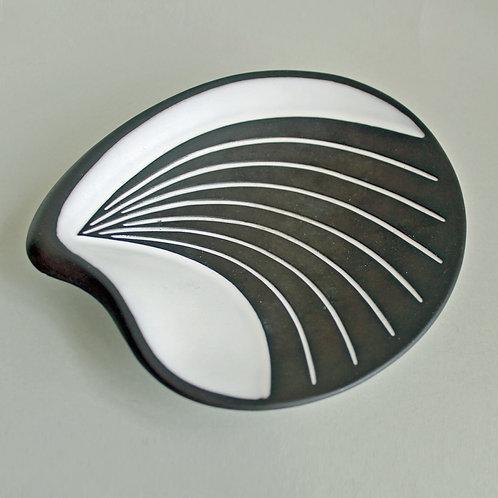 Christian Schollert, Denmark. Modernist  Small  Abstract Bowl, 1950's