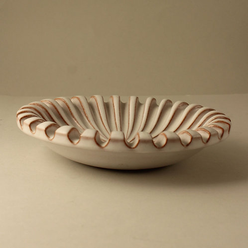 Christian Schollert, Denmark. Fluted Bowl