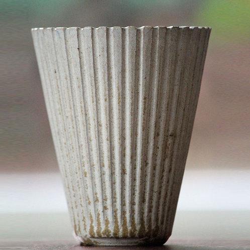 Arne Bang, Own Studio, Denmark. Stoneware Vase