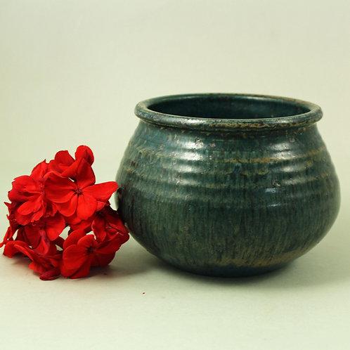 Class Thell, Hoganas, Sweden. Unique Stoneware Bowl