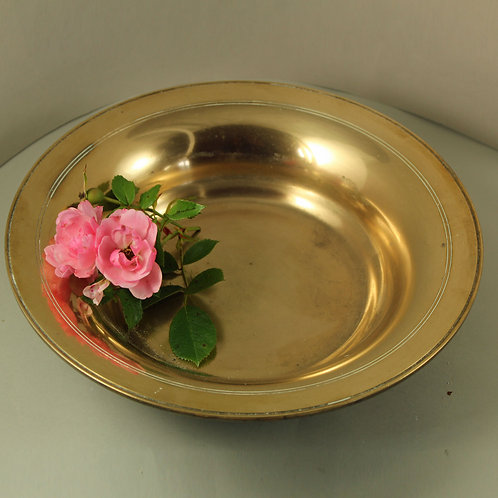 Heavy Bronze Bowl, Just Andersen, Denmark