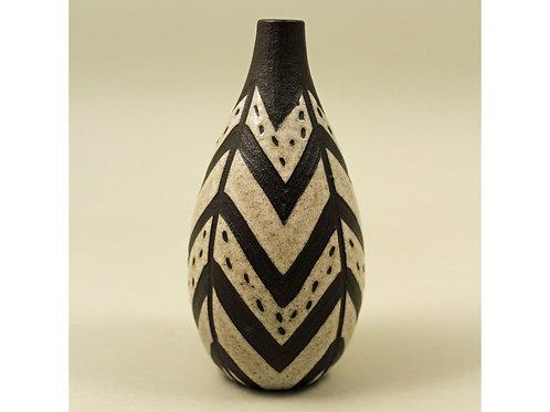 Vase, Negro Series. Marianne Starck, Michael Andersen