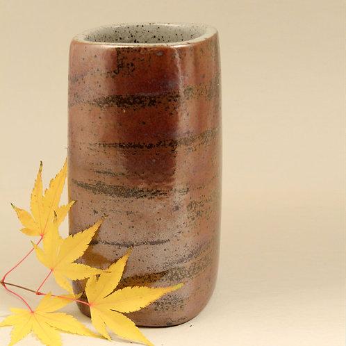 Per Linneman Schmidt, Palshus, Denmark. Stoneware Vase