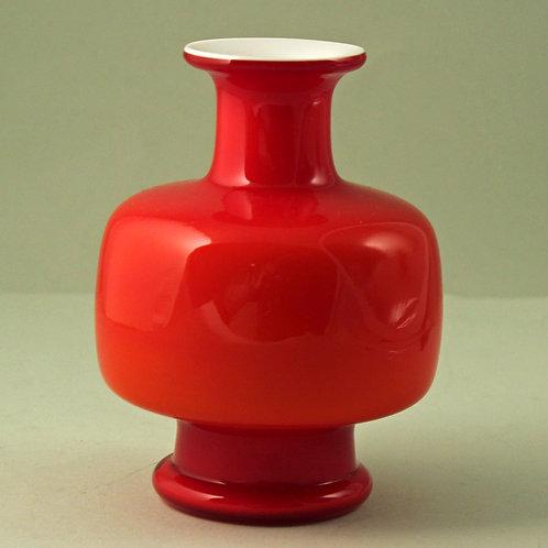 Per Lutken, Holmegaard. Small Carnaby Vase, 1960's