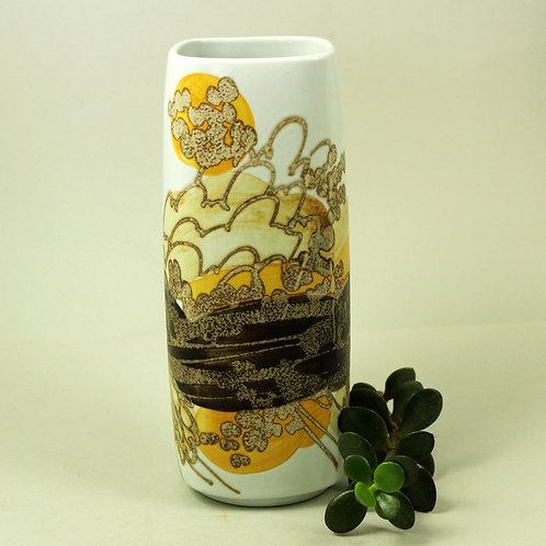 Ellen Malmer, Royal Copenhagen. Faiance Vase. Abstract Decor
