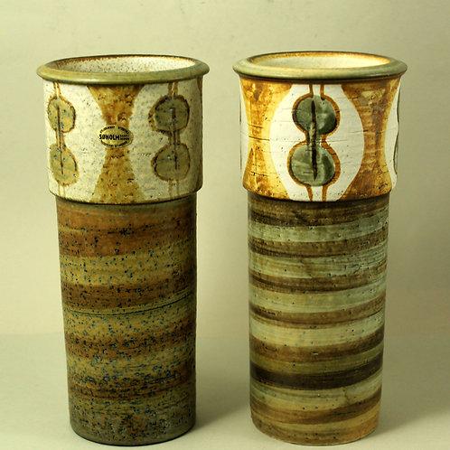 Svend Aage Jensen, Soholm, Denmark. Mid Century Vase