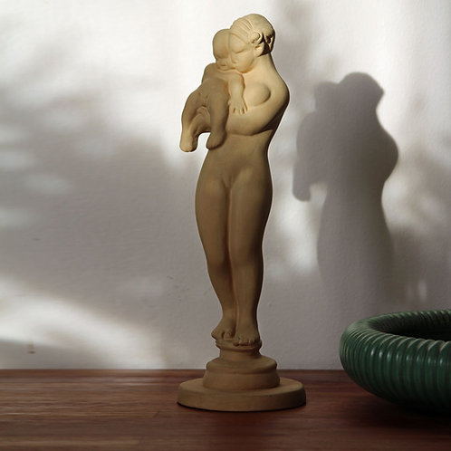 RESERVED Terracotta Sculpture, Kai Nielsen, Kahler, Denmark
