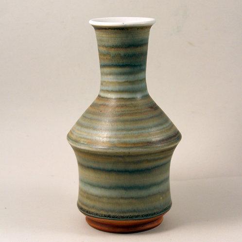 Claes Iversson, Hoganas Keramk, Sweden. Unique Mid Century Vase
