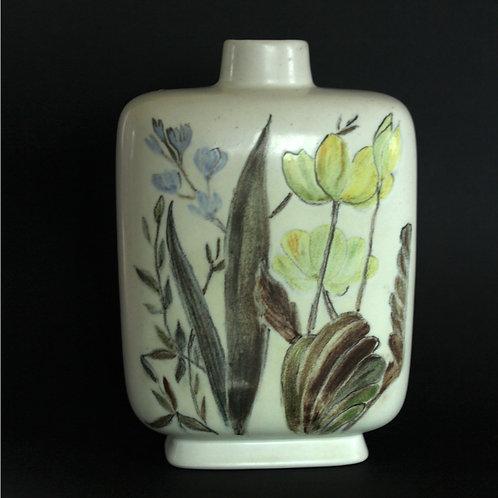 Carl Harry Stalhane, Rorstrand, Sweden. Hand-Painted Vase