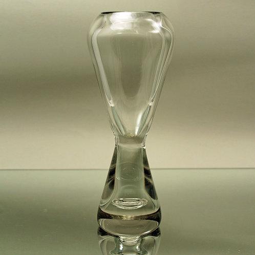 Tall Art Glass Vase, Bengt Orup, Johansfors