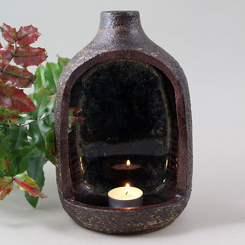 Mid Century Sconce /Lantern, Kingo Keramik, Denmark