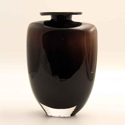 Kjell Engman Art Glass Vase, Kosta Boda