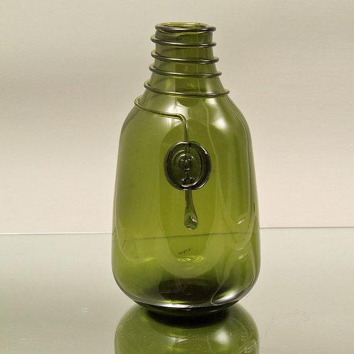 Art Glass decanter, Jacob E. Bang, Kastrup