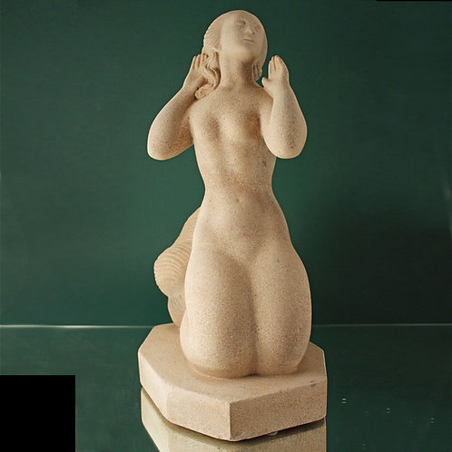 Mermaid Sculpture, Just Andersen, Denmark