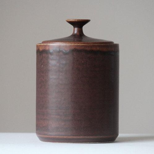 Desiree Stoneware, Denmark. Mid Century Lidded Bowl