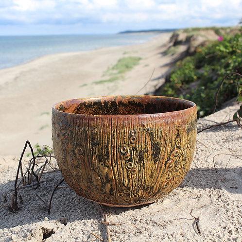 Large Studio Stoneware Bowl, Jorgen Mogensen, Denmark