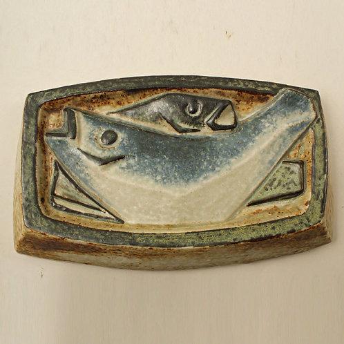 Jorgen Mogensen, Royal Copenhagen. Rare Stoneware Wall Plaque