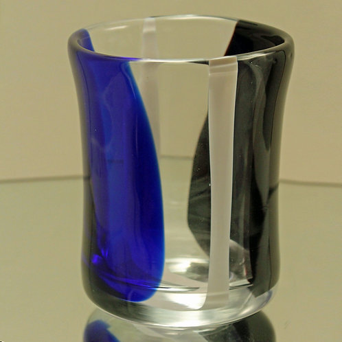 Art Glass Vase, Erik Hoglund for Chribska, Czechoslovakia