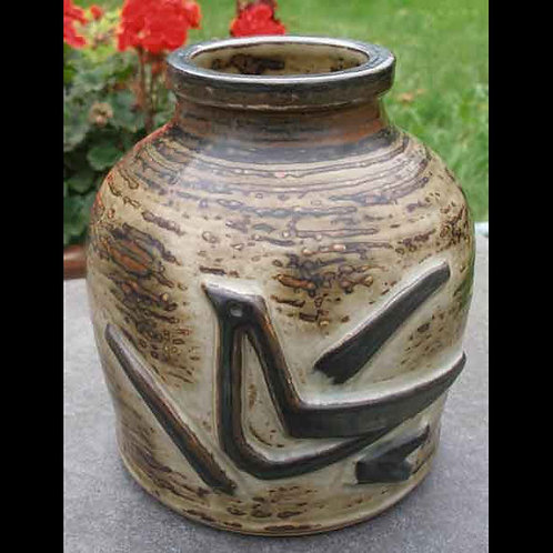 Stoneware Vase, Jorgen Mogensen, Royal Copenhagen