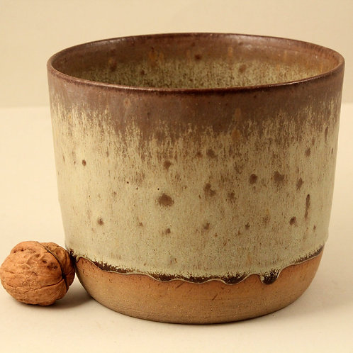 Per Linneman Schmidt, Palshus, Stoneware Planter. Mid Century