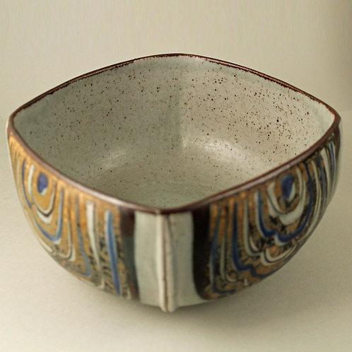 Ivan Weiss, Royal Copenhagen, Denmark. Stoneware Bowl