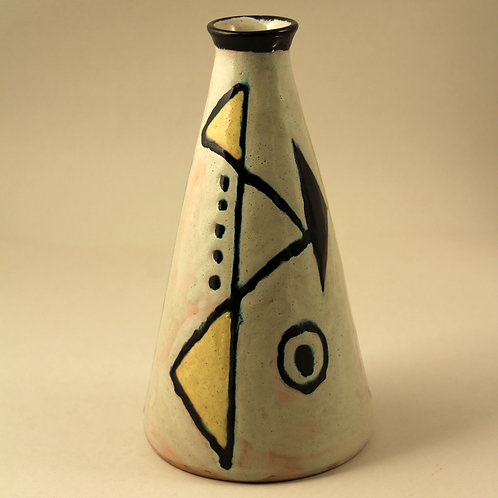 Axel Bruel, Denmark. Modernist Retro Vase