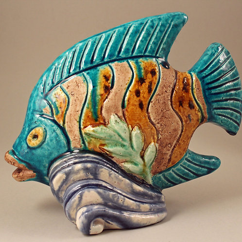 Chamotte Fish Figurine, Gunnar Nylund, Rorstrand
