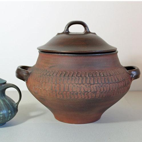 Dybdahl Denmark, Giant Lidded Bowl, Soup or Punch Bowl