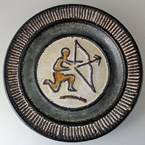 Sagittarius Wall Hanging, Kingo Keramik, Denmark