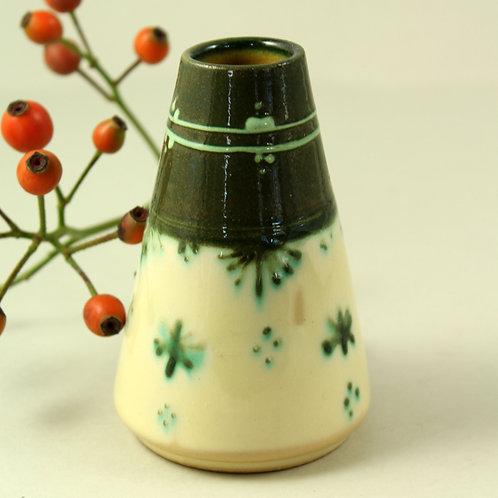 Nøfle Lustü, Bjørn Wiinblad Studio Denmark. Small Unique Vase