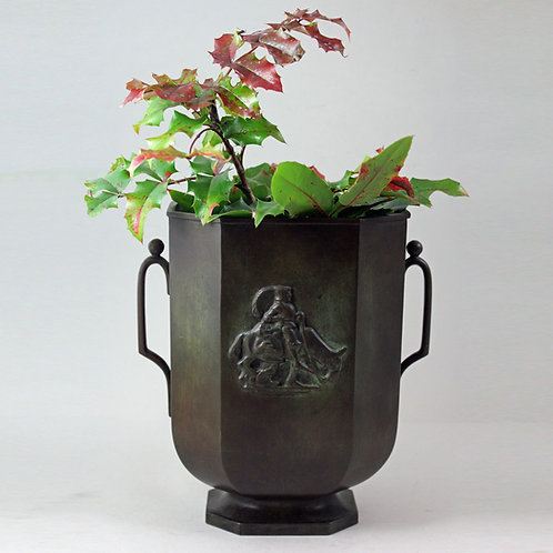 Bronze Vase, G.A.B, Sweden
