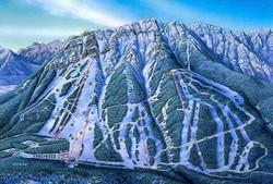 Ski Resort - banff Alberta