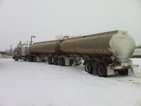 Jezreel petroleum truck
