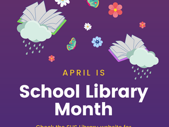 April is... School Library and National Poetry Month!