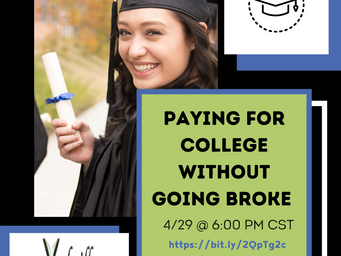 Free Zoom Webinar: Paying for College Without Going Broke