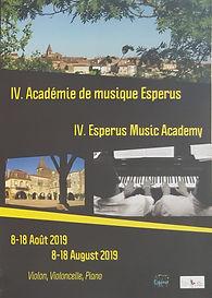 Esperus music Academy Académiede musique Esperus