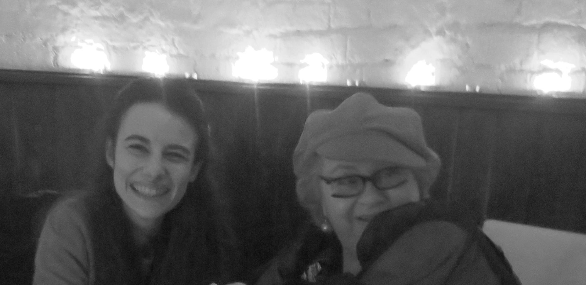 with Dora Schwarzberg