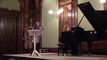 Louise Chisson Tamara Atschba Blüthner Zyklus Konzert