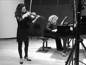 Duo Chisson-Atschba recording session