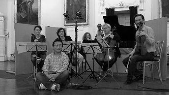 Duo Chisson-Atschba Matthias Adensamer Alexander Znamenskiy Christophe Pantillon Akihiro Yamada recording session Vierne