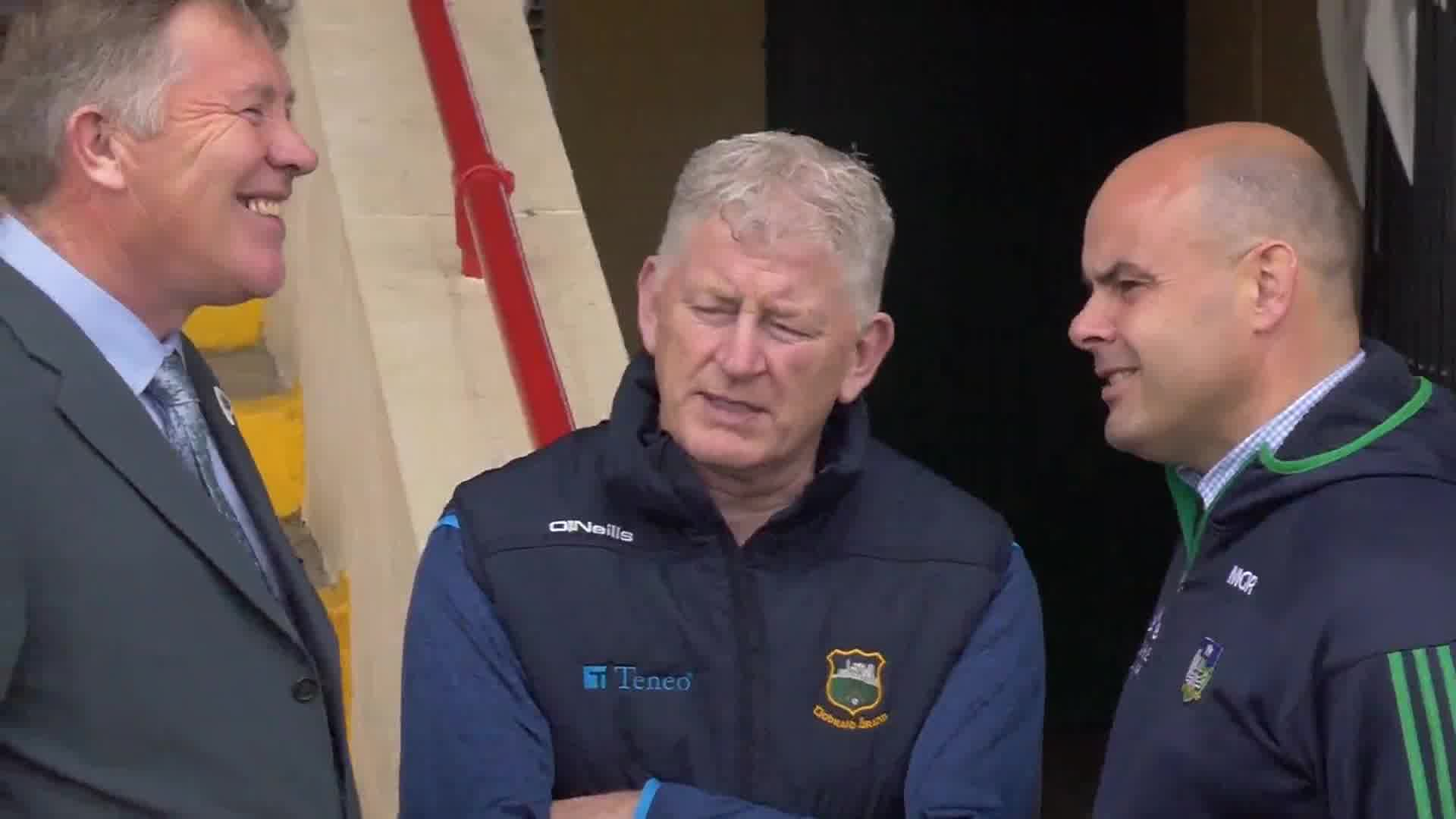 Munster Final Behind The Scenes