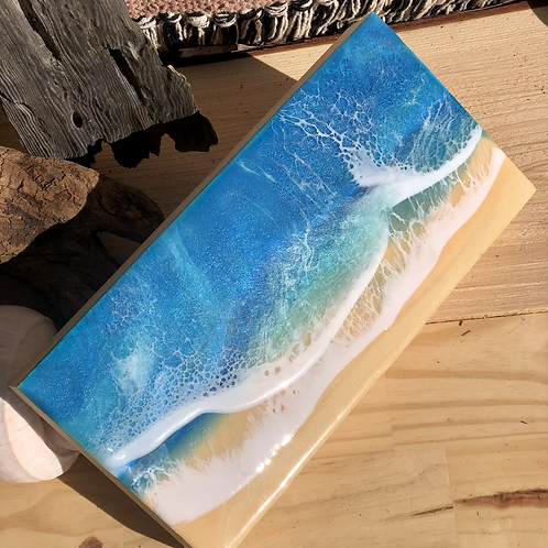 Cape May Resin Painting