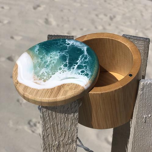 Beach Ave Bamboo Box