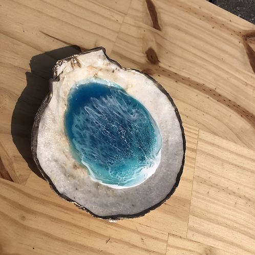 Cape May Scallop Ring Dish