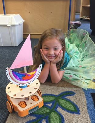 Joy in building an art project!