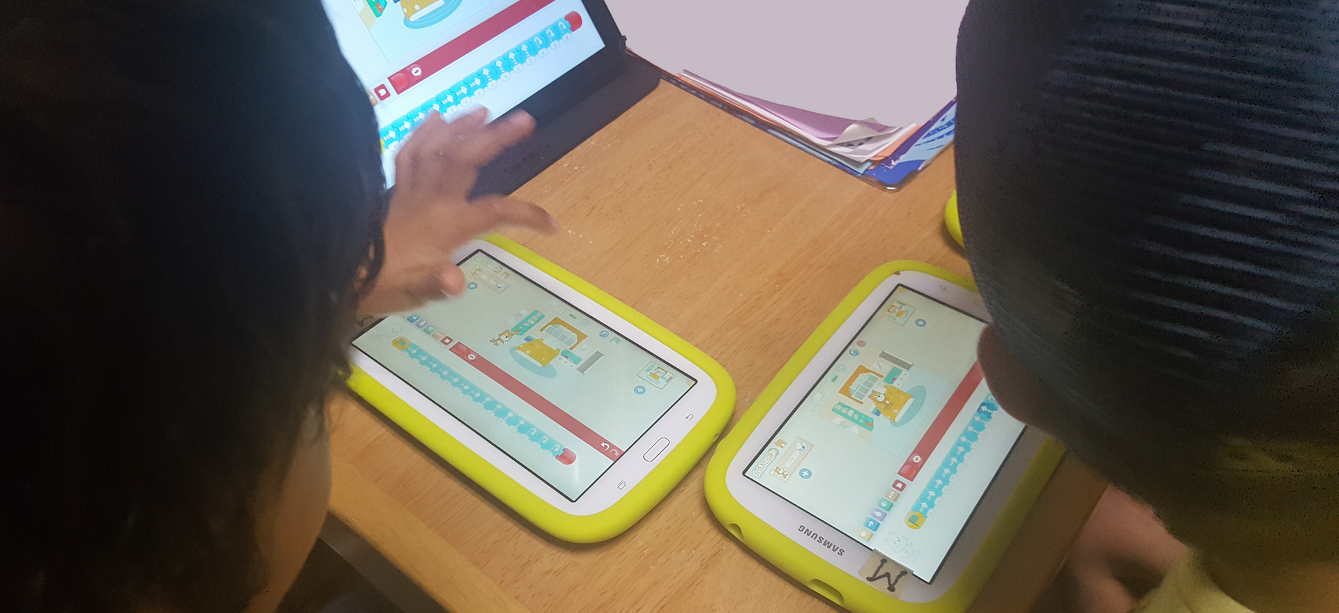 Coding with ScratchJr.
