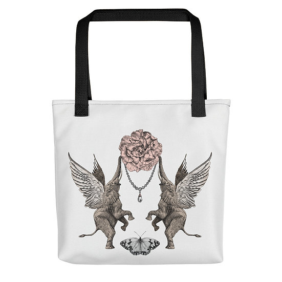 When Elephants Fly Tote bag