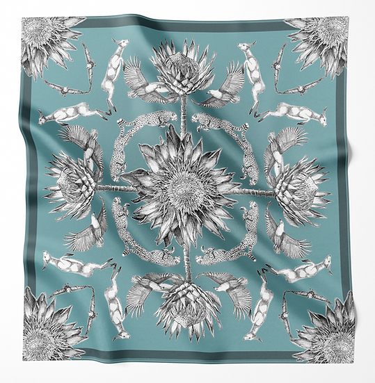 Dreaming of Africa (turquoise)