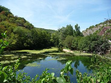 Rivière l'Ouysse