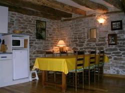 Salle à manger, côté cuisine